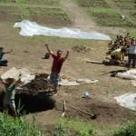 Scavi del cantiere all' Hortus Urbis! primavera 2012