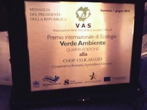 premio verde ambiente 2014